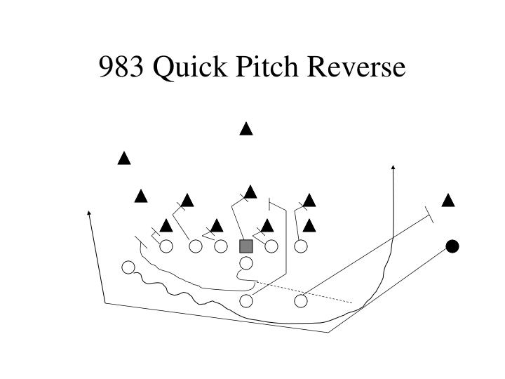 983 Quick Pitch Reverse