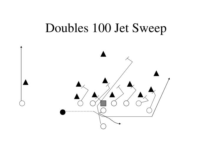 Doubles 100 Jet Sweep