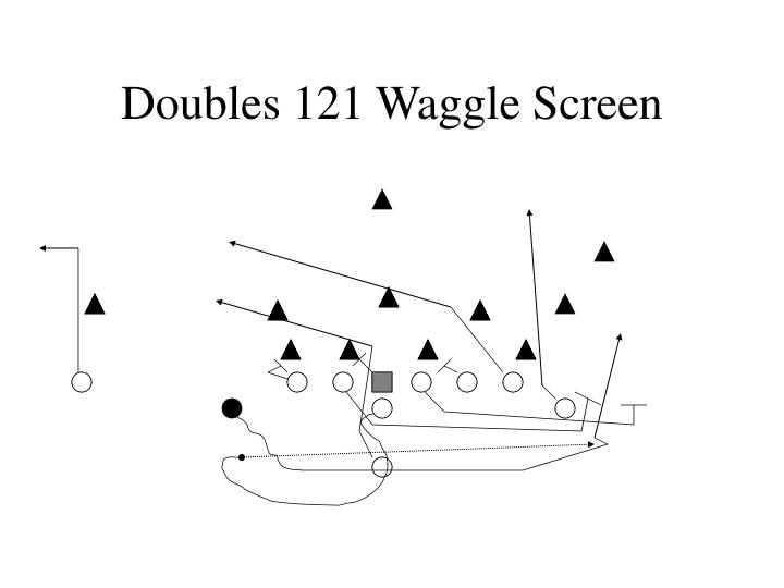 Doubles 121 Waggle Screen