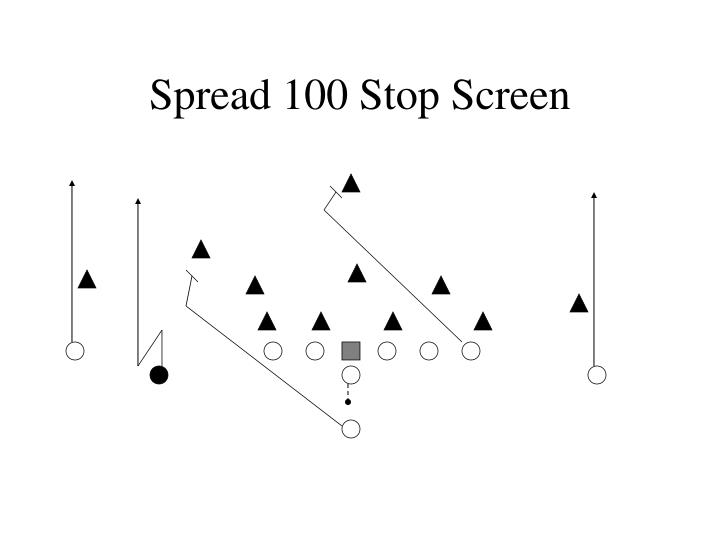 Spread 100 Stop Screen