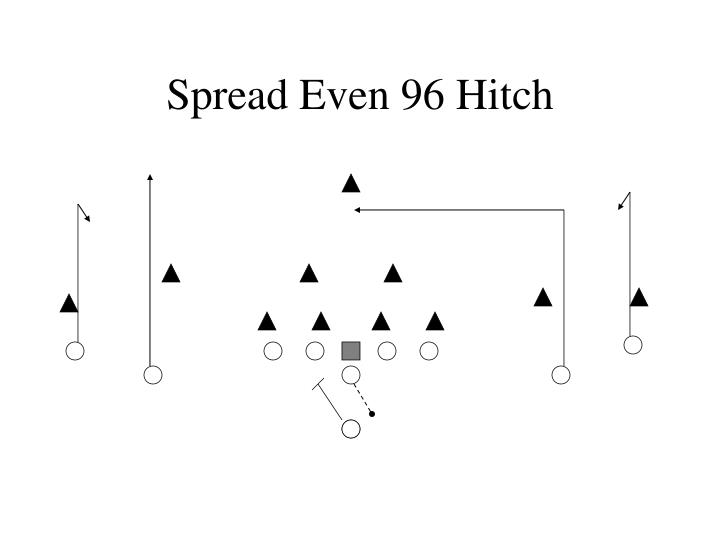 Spread Even 96 Hitch