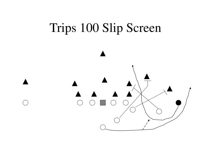 Trips 100 Slip Screen