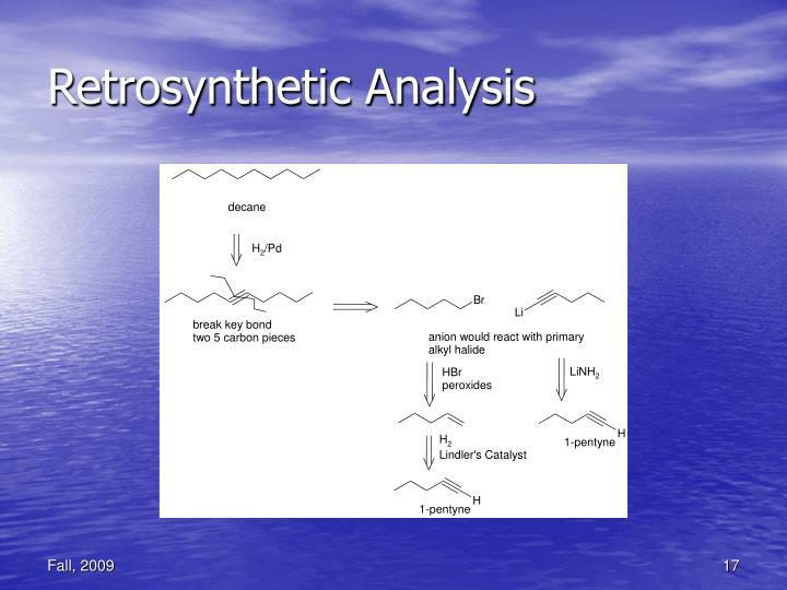Retrosynthetic Analysis
