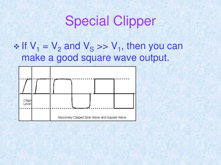 Special Clipper