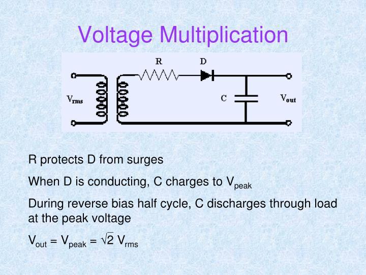 Voltage Multiplication