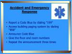 accident and emergency response1