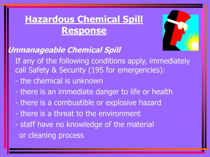 Hazardous Chemical Spill Response