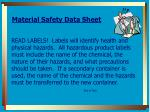 material safety data sheet1