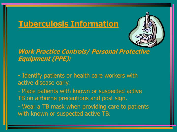 Tuberculosis Information
