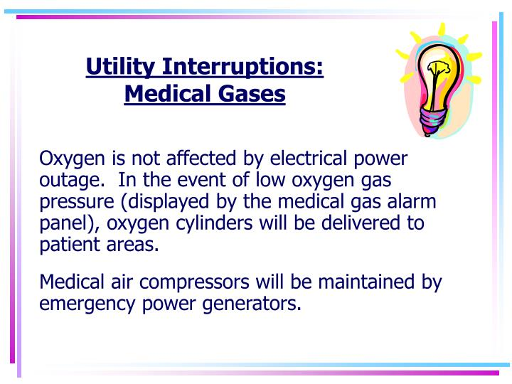 Utility Interruptions: