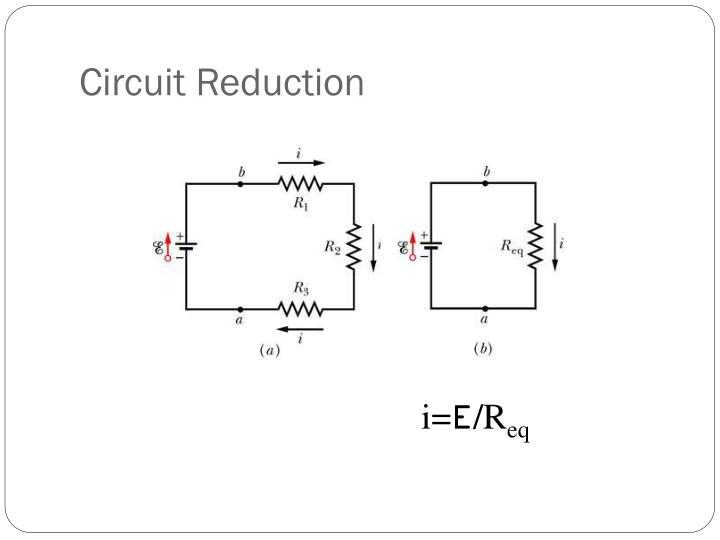 Circuit Reduction