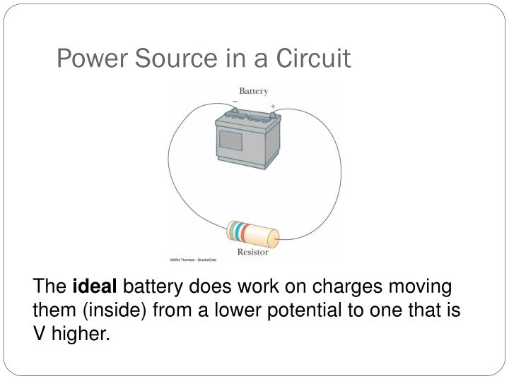 Power Source in a Circuit