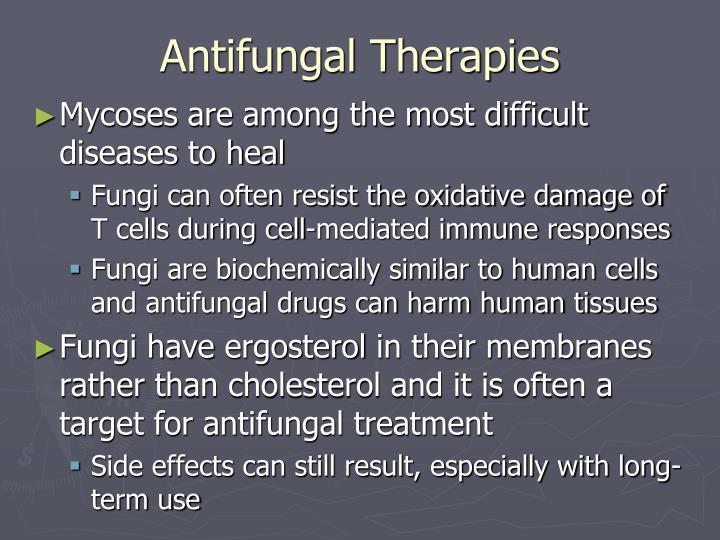Antifungal Therapies