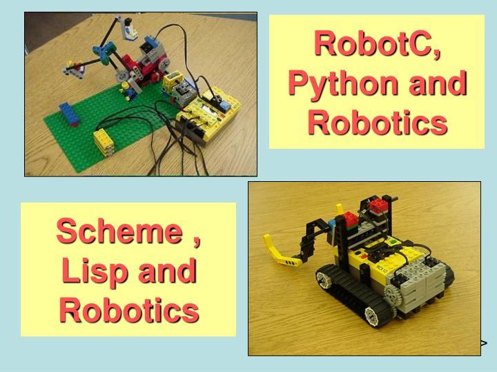 RobotC, Python and Robotics