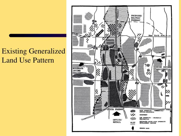 Existing Generalized Land Use Pattern