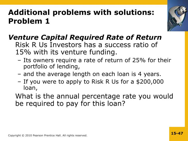 Additional problems with solutions: