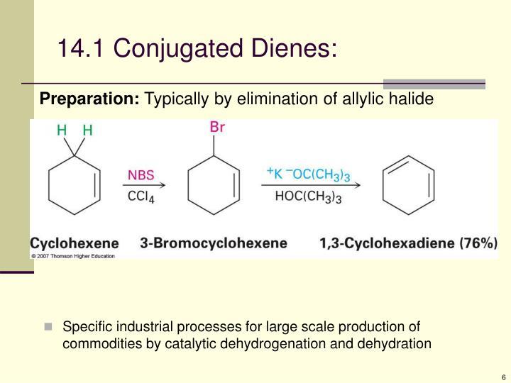 14.1 Conjugated Dienes: