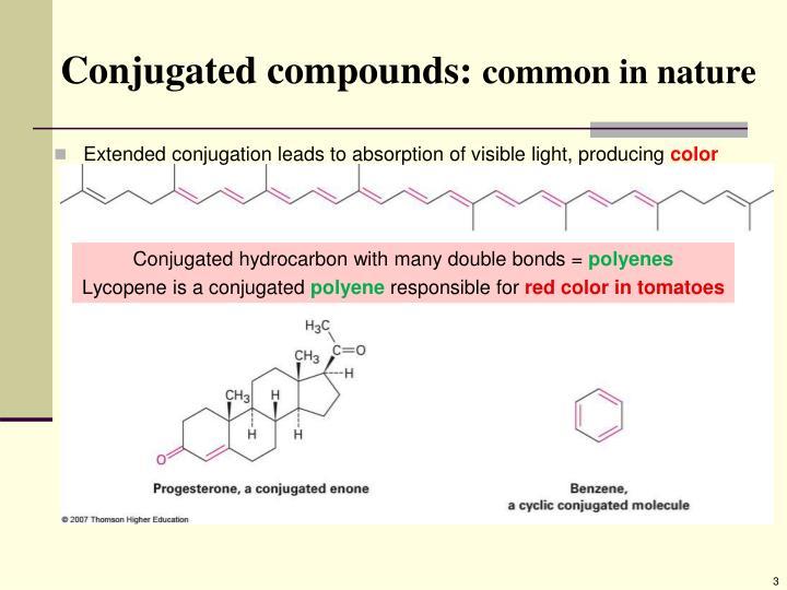 Conjugated compounds: