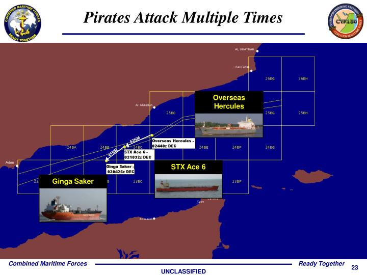 Pirates Attack Multiple Times