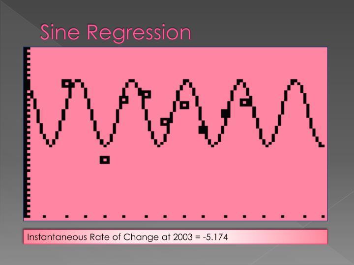 Sine Regression