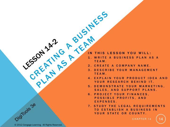 Lesson 14-2