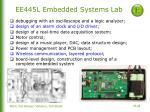 ee445l embedded systems lab
