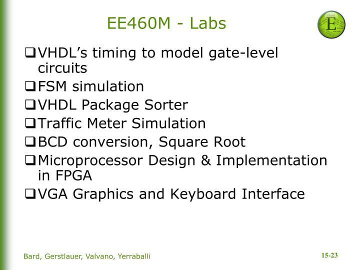 EE460M - Labs