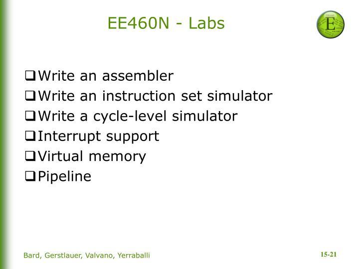 EE460N - Labs