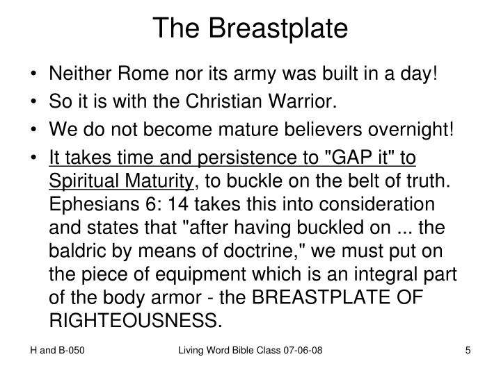 The Breastplate