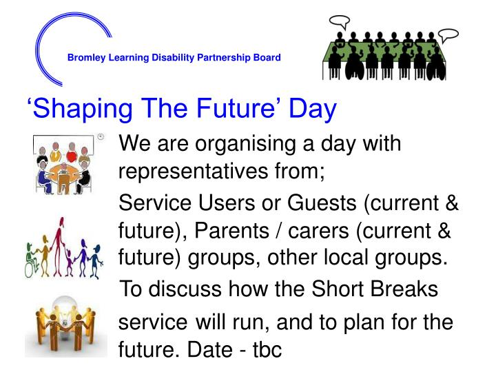 'Shaping The Future' Day