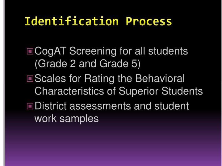 Identification Process