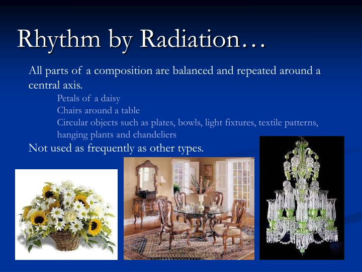 Rhythm by Radiation…