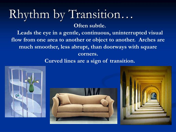 Rhythm by Transition…