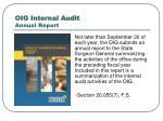 oig internal audit annual report