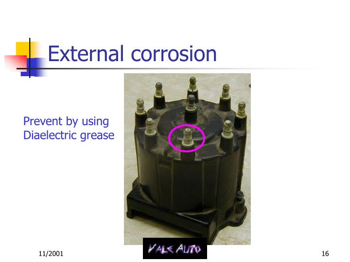 External corrosion