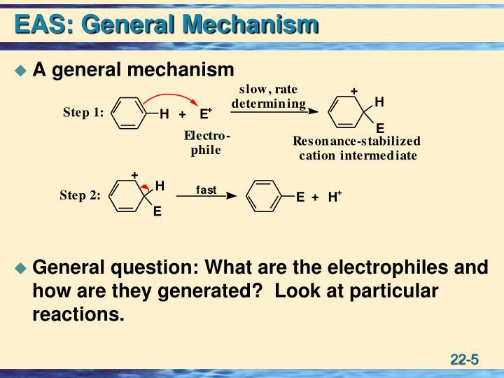 EAS: General Mechanism