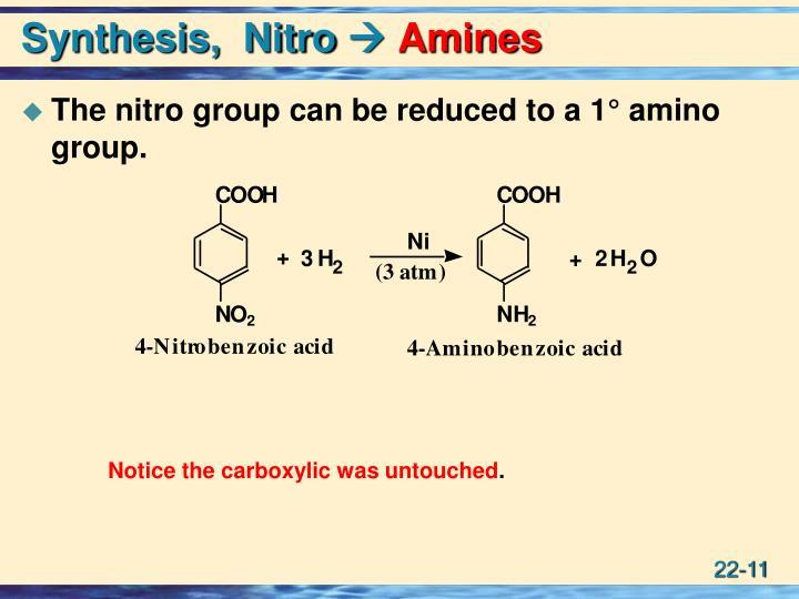 Synthesis,  Nitro