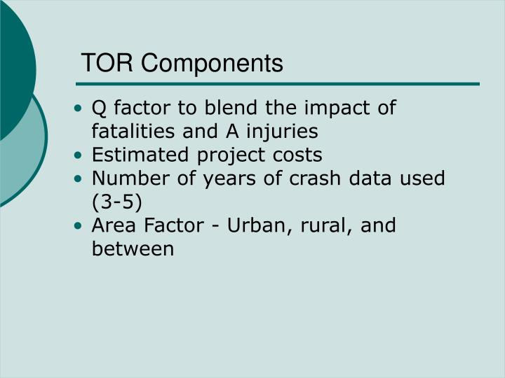 TOR Components