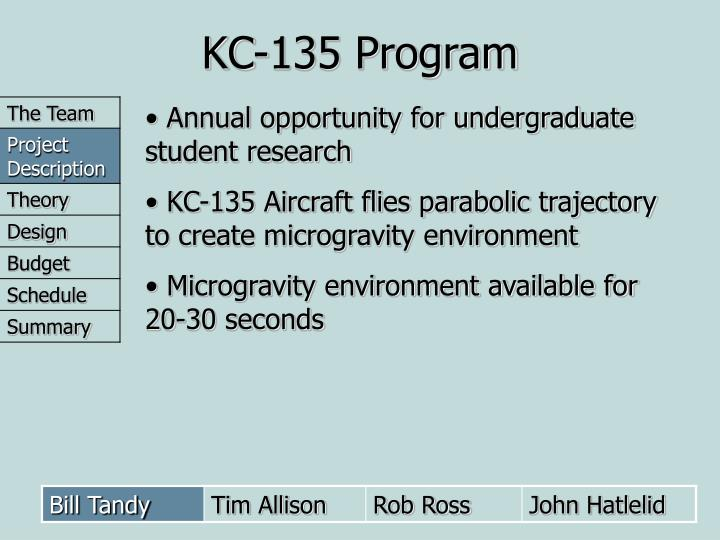 KC-135 Program