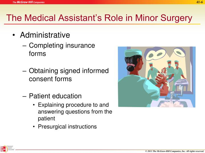 The Medical Assistant's Role in Minor Surgery