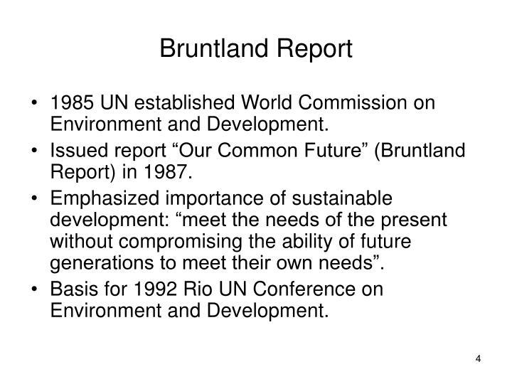 Bruntland Report