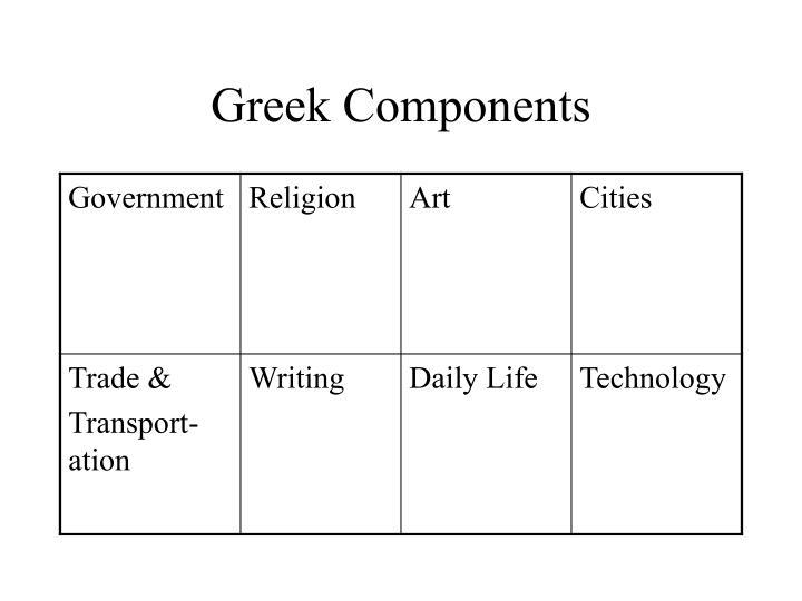 Greek Components