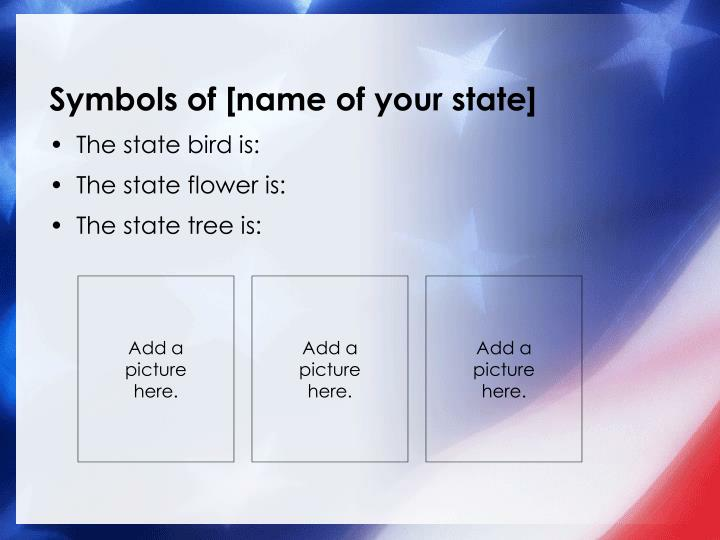 Symbols of [name of your state]
