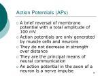 action potentials aps