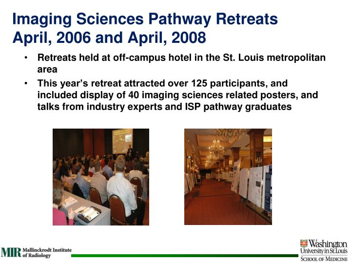 Imaging Sciences Pathway Retreats