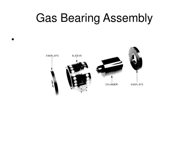 Gas Bearing Assembly