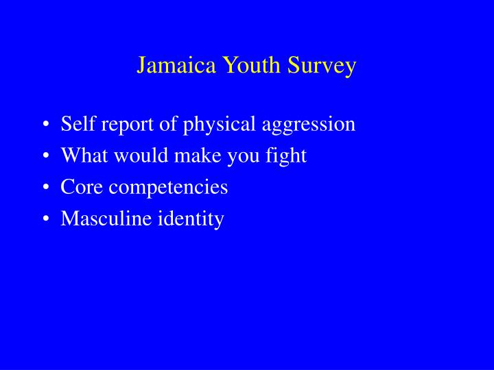 Jamaica Youth Survey