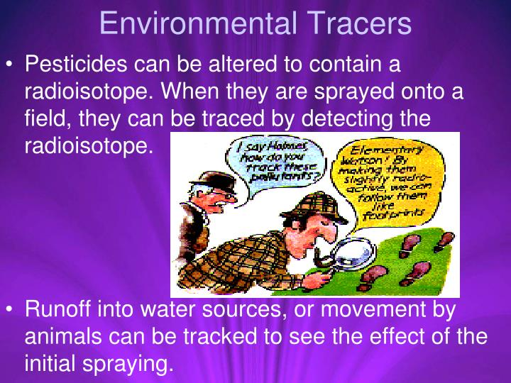 Environmental Tracers