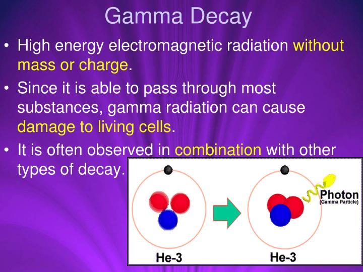 Gamma Decay
