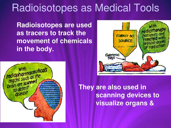 Radioisotopes as Medical Tools